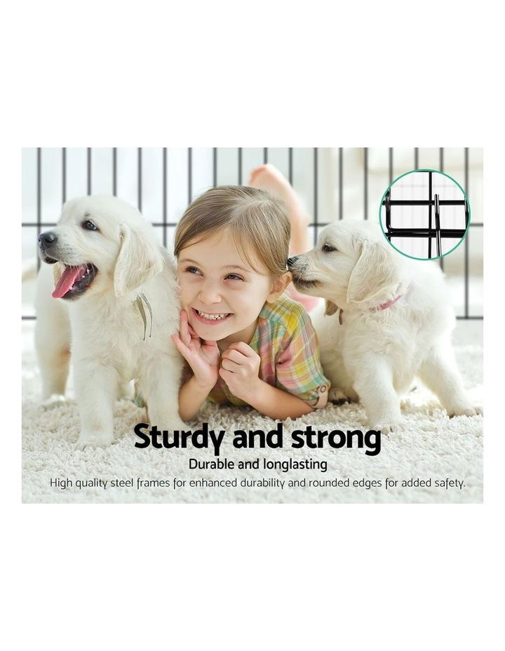 """36"""" 8 Panel Pet Dog Playpen image 4"""