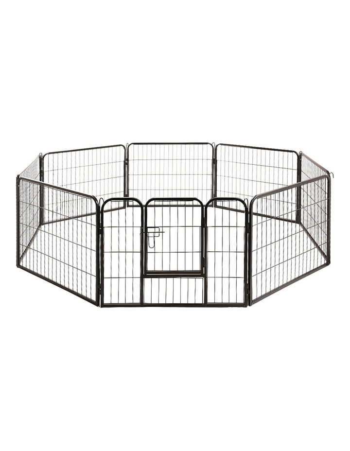80x60cm 8 Panel Pet Dog Playpen image 1