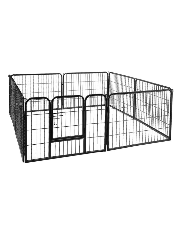 80x60cm 8 Panel Pet Dog Playpen image 2
