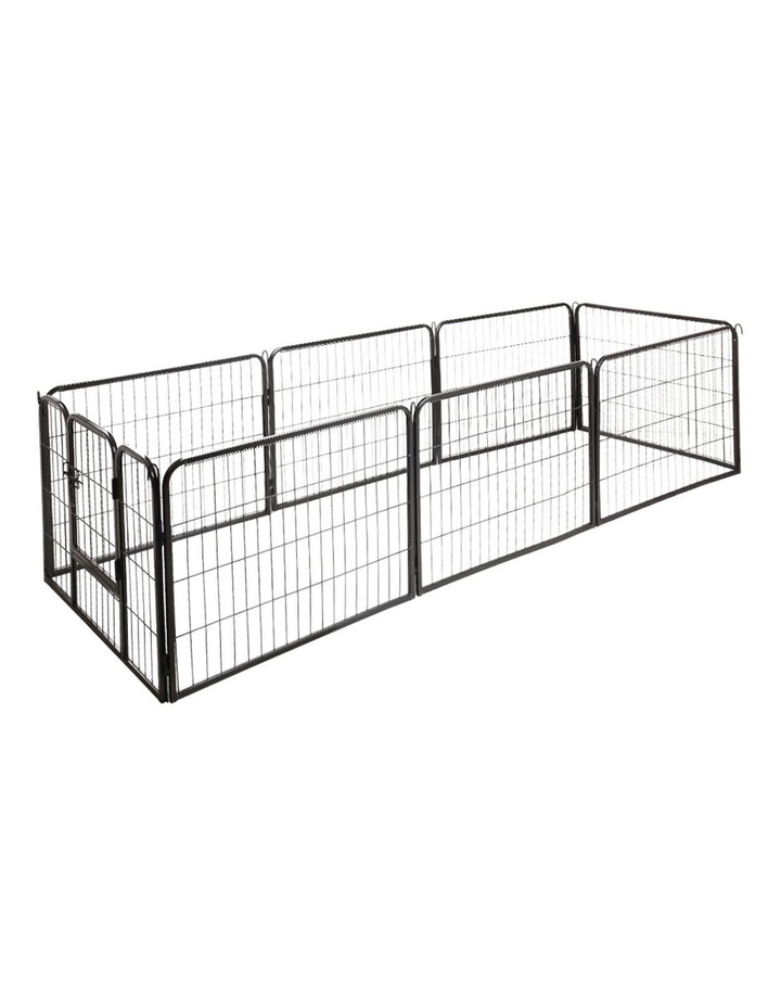 80x60cm 8 Panel Pet Dog Playpen image 3