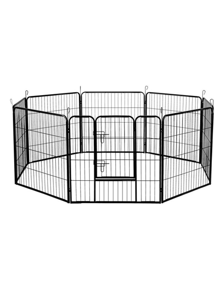 80x80cm 8 Panel Pet Dog Playpen image 1