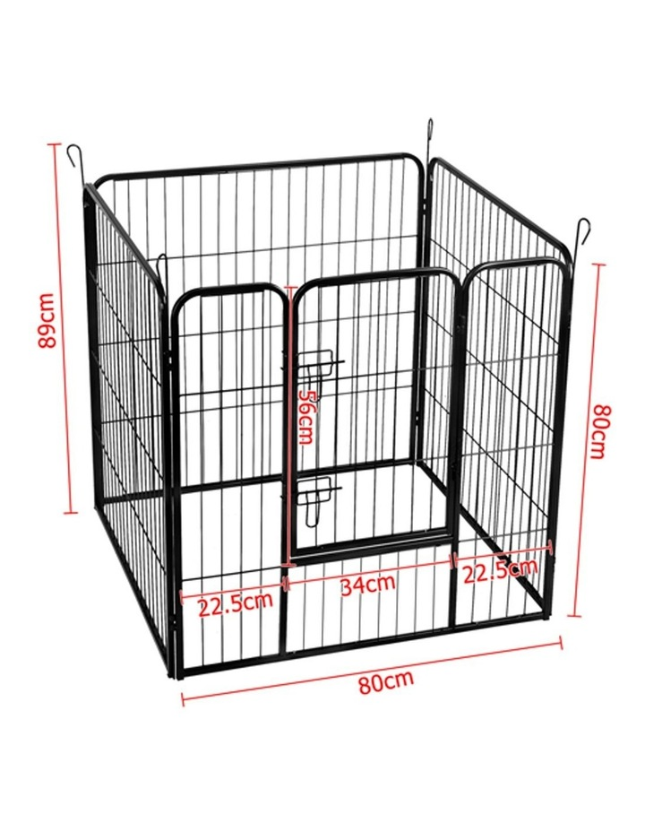 80x80cm 8 Panel Pet Dog Playpen image 2