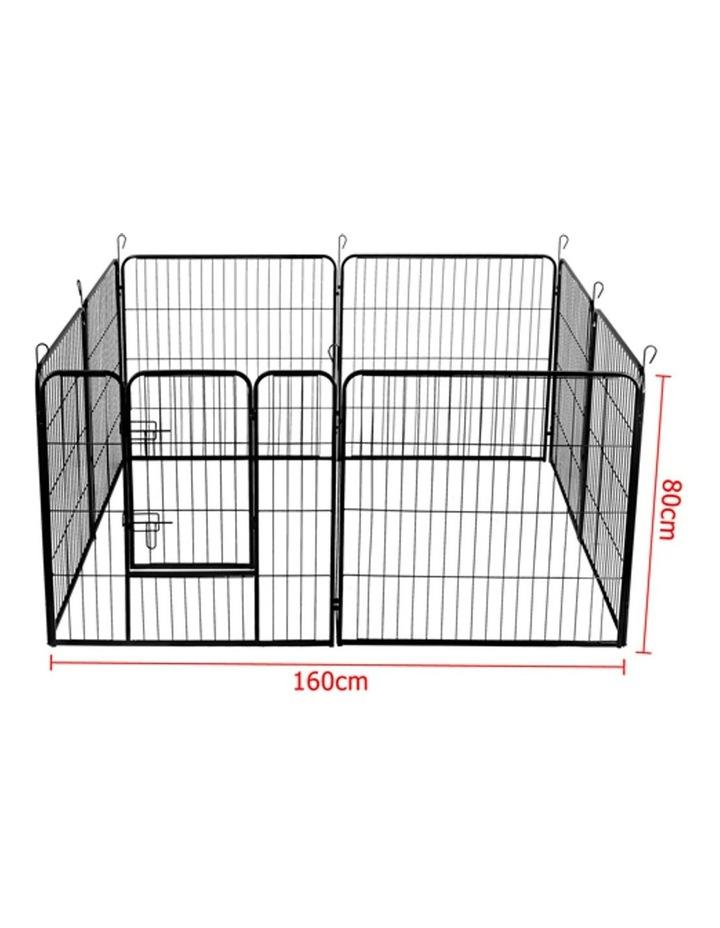 80x80cm 8 Panel Pet Dog Playpen image 4