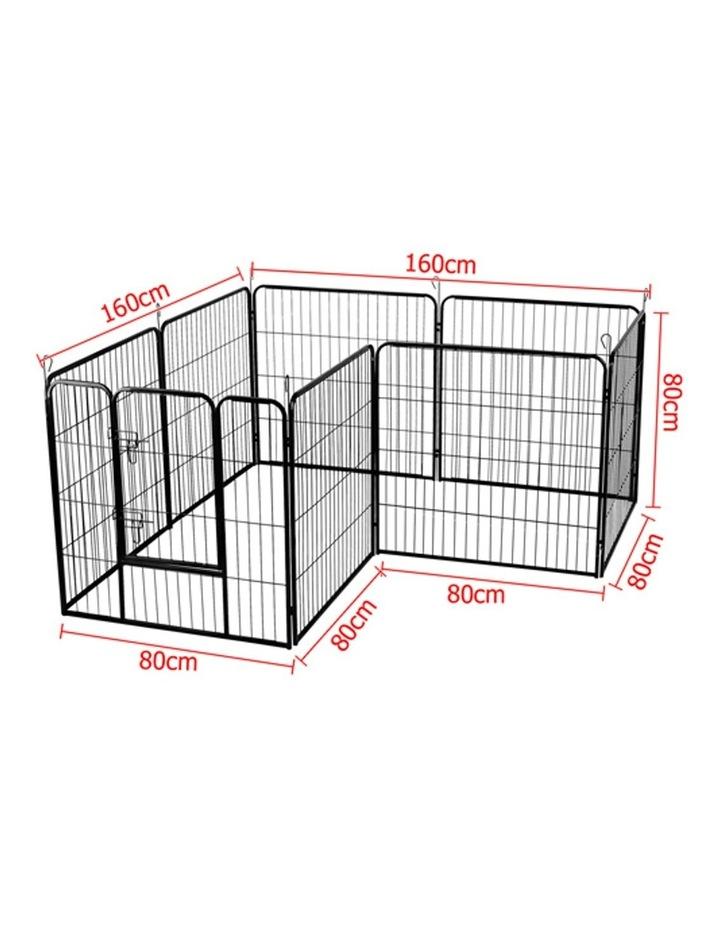 80x80cm 8 Panel Pet Dog Playpen image 5