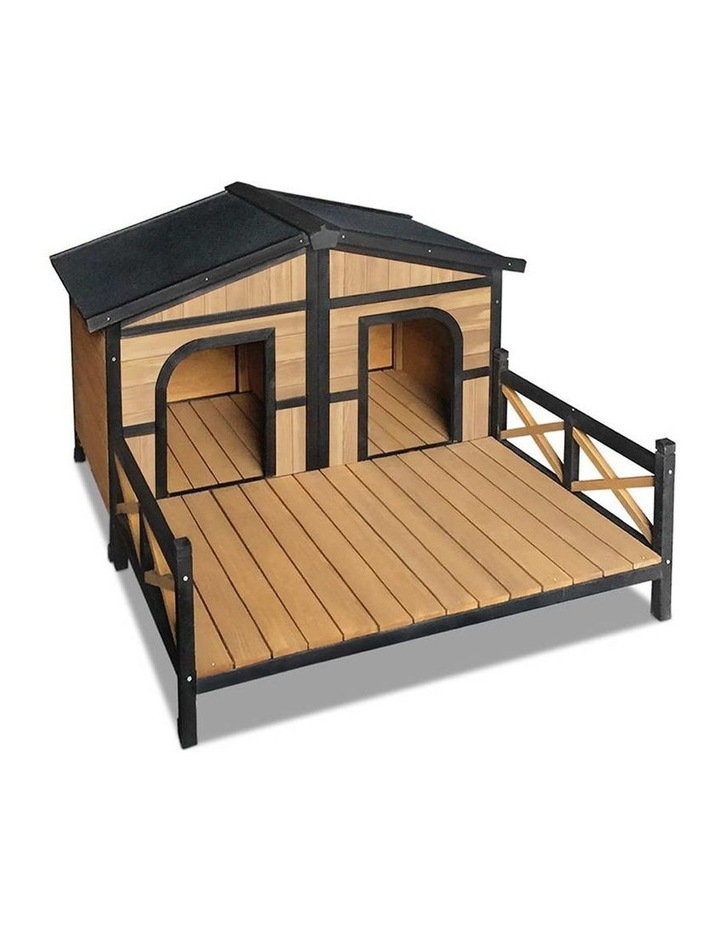 i.Pet Extra Extra Large Wooden Pet Kennel image 1