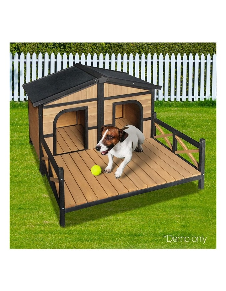 i.Pet Extra Extra Large Wooden Pet Kennel image 3