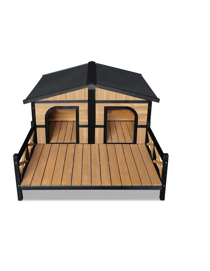 i.Pet Extra Extra Large Wooden Pet Kennel image 4