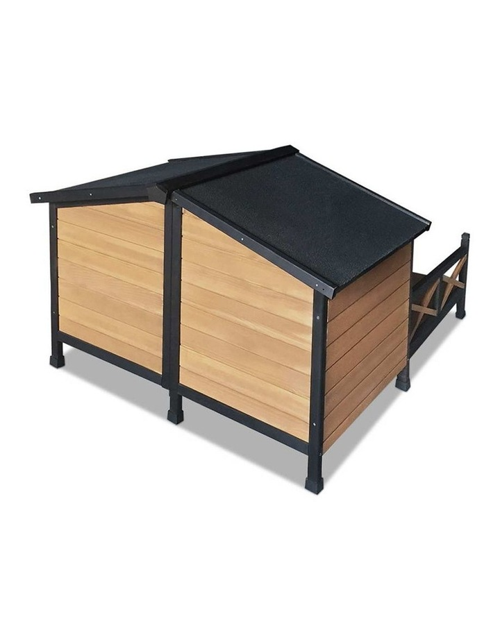 i.Pet Extra Extra Large Wooden Pet Kennel image 7