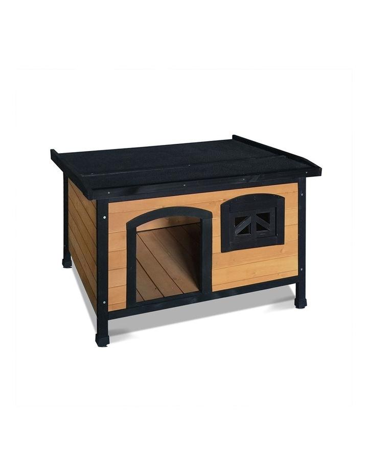 Large Wooden Pet Kennel image 1