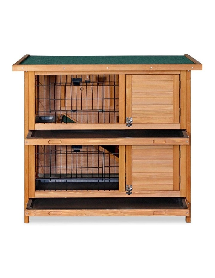 2 Storey Wooden Rabbit Hutch image 6