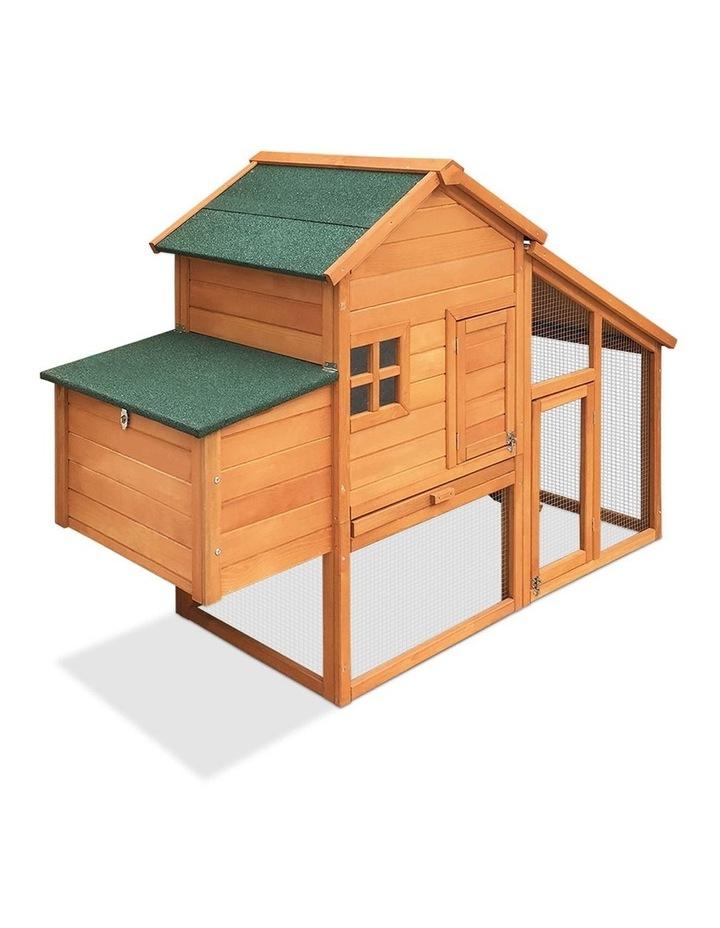 171cm Wide Wooden Chicken Coop image 1
