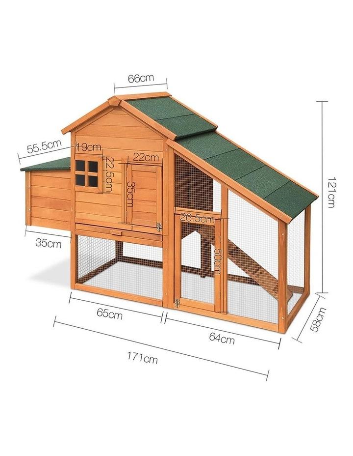 171cm Wide Wooden Chicken Coop image 2