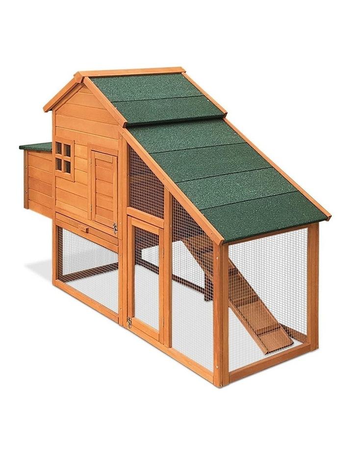 171cm Wide Wooden Chicken Coop image 4