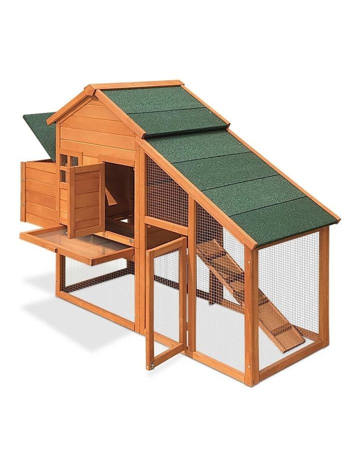 171cm Wide Wooden Chicken Coop image 5