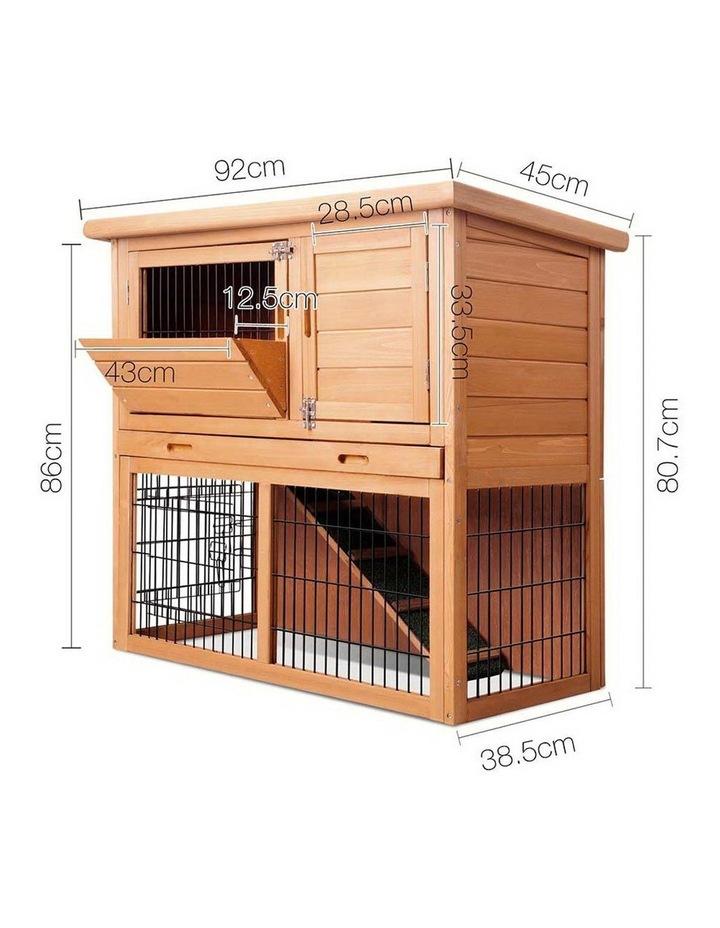 i.Pet 86cm Tall Wooden Pet Coop image 2
