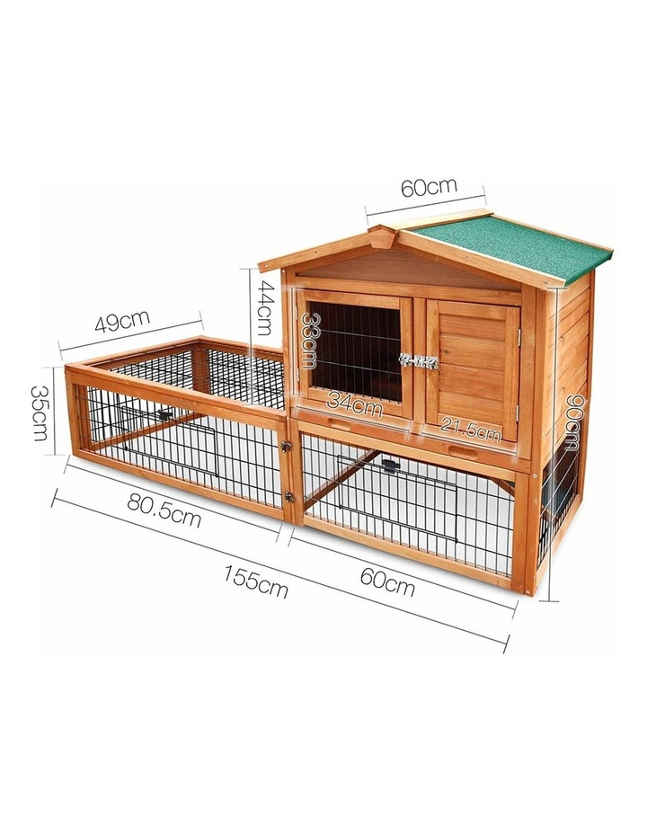 155cm Tall Wooden Pet Coop image 2
