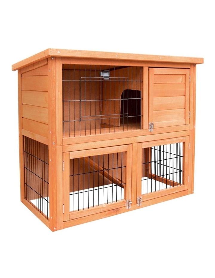 93cm Tal Wooden Pet Coop image 1