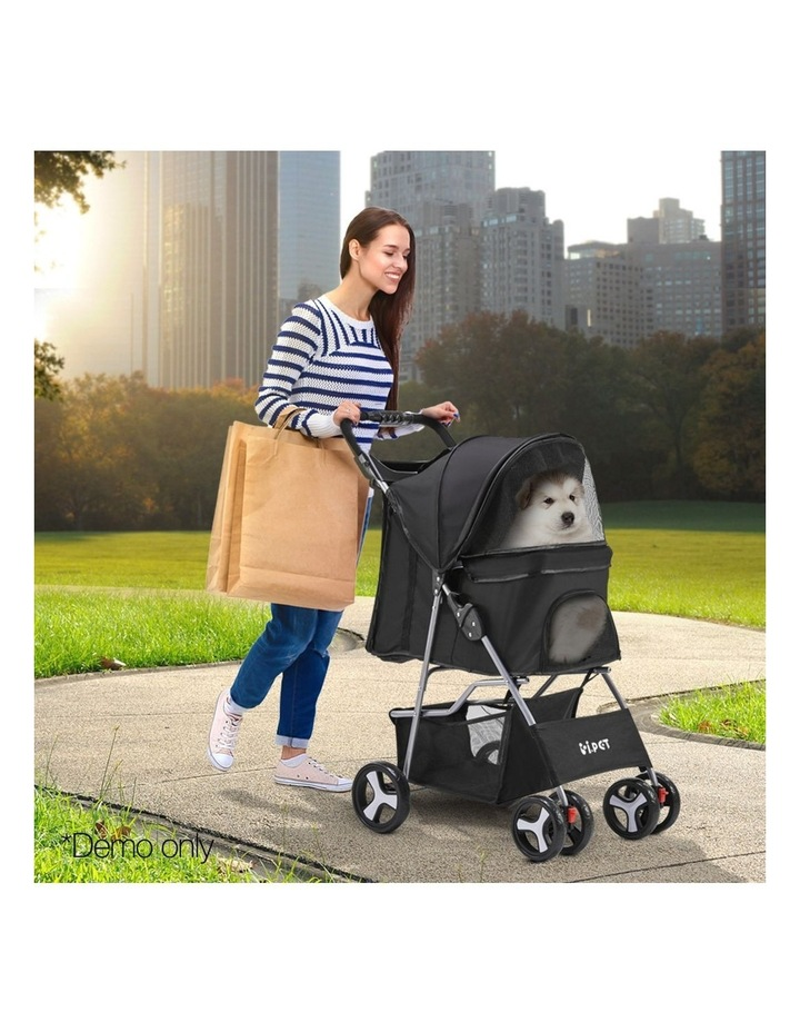 4 Wheel Pet Stroller image 2