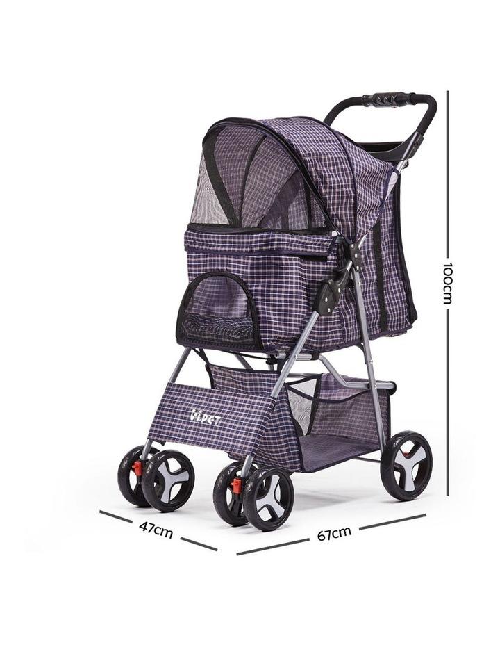 Pet 4 Wheel Pet Stroller image 2