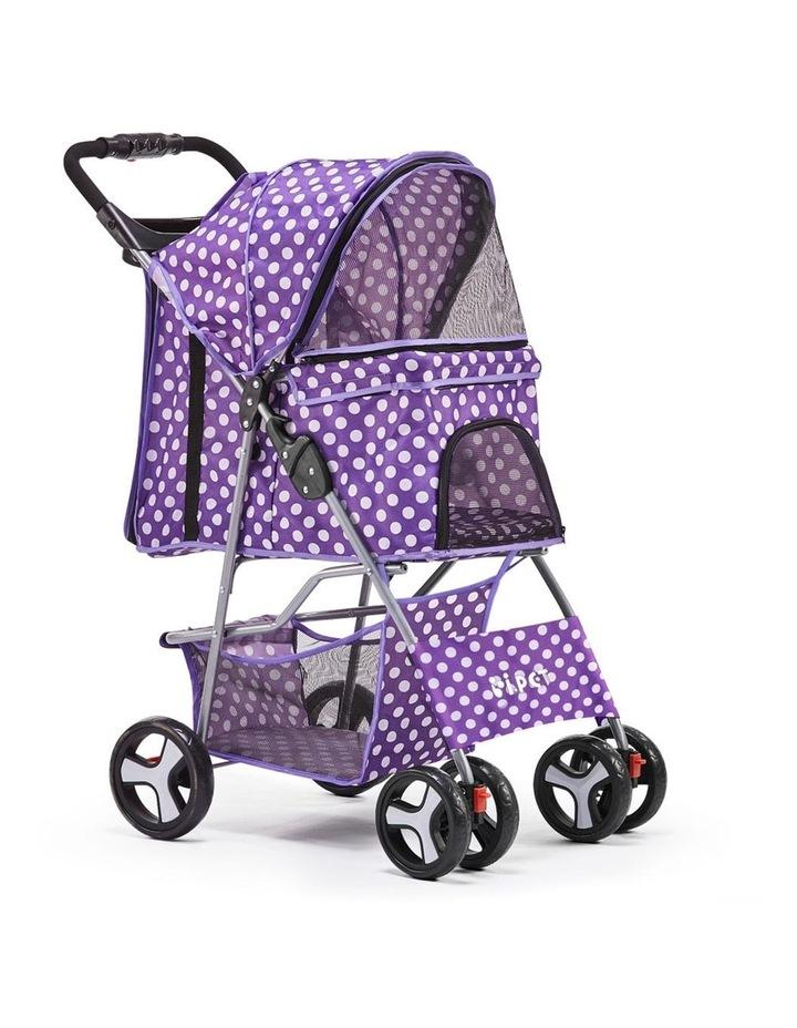 Pet 4 Wheel Pet Stroller image 1