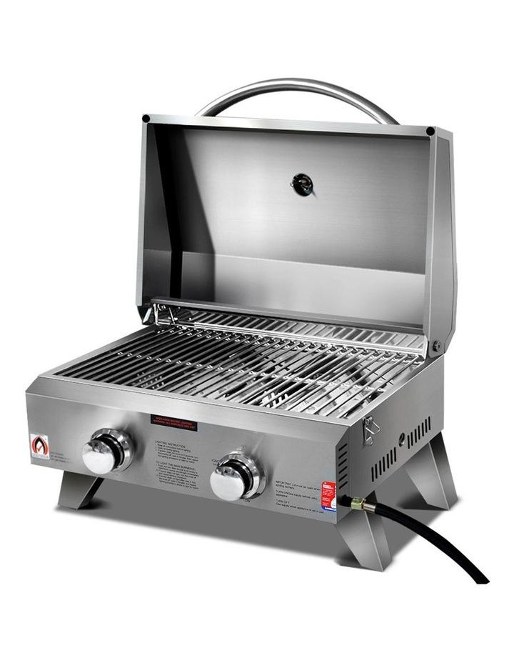 Portable 2 Burner Gas BBQ image 1