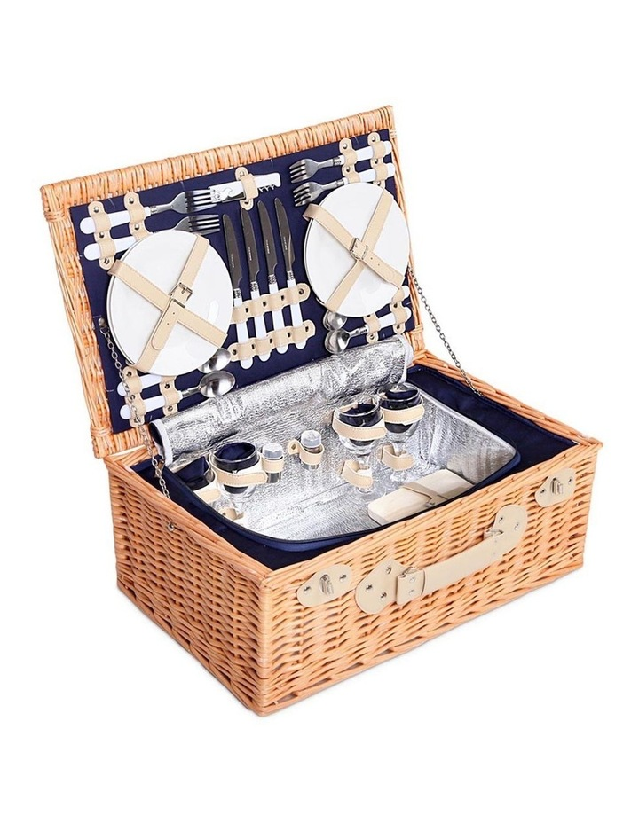 Deluxe 4 Person Picnic Basket image 1