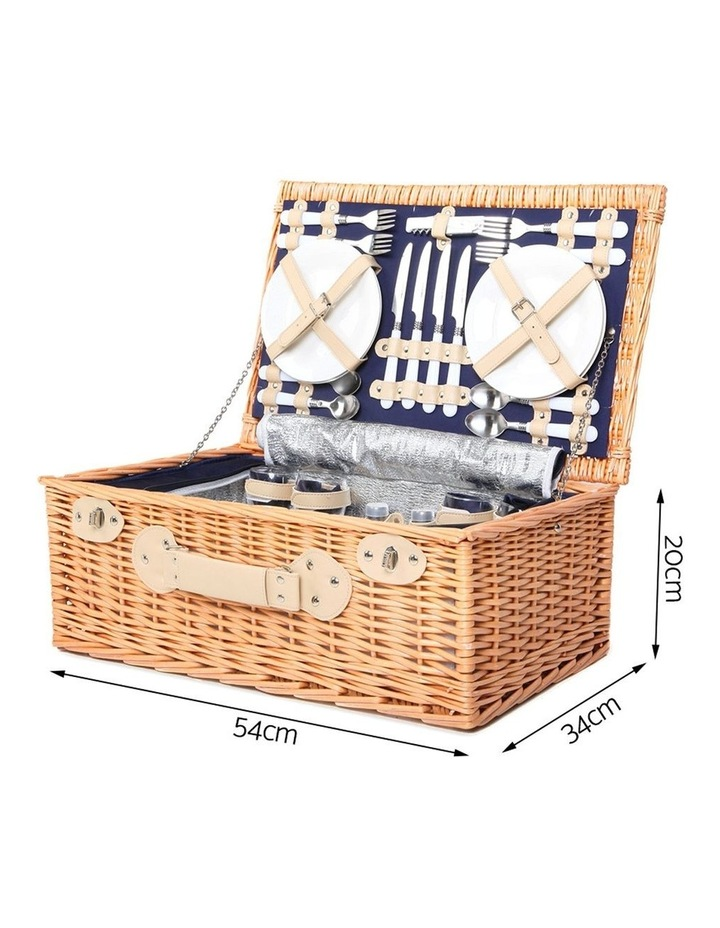 Deluxe 4 Person Picnic Basket image 2
