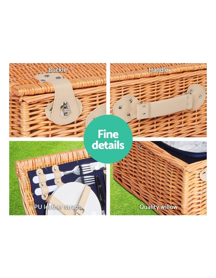 Deluxe 4 Person Picnic Basket image 5