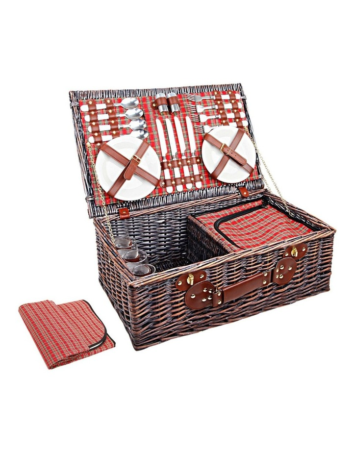 Alfresco Alfresco Deluxe 4 Person Picnic Basket Myer