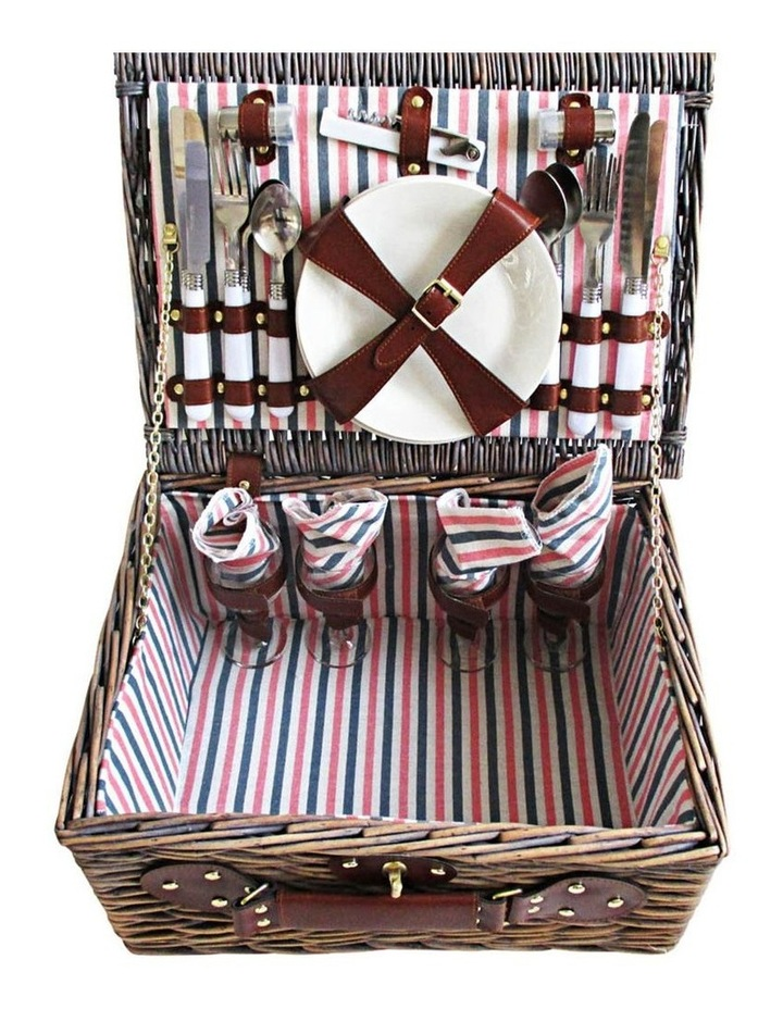 4 Person Picnic Basket image 6