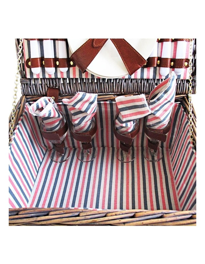 4 Person Picnic Basket image 7