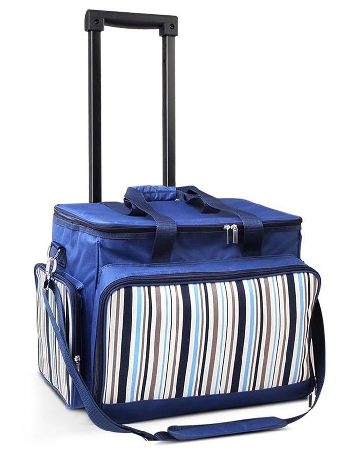 6 Person Picnic Bag Trolley Set image 1