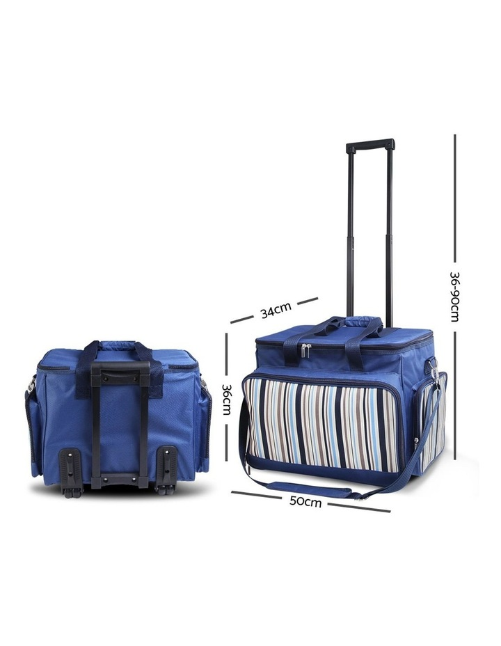 6 Person Picnic Bag Trolley Set image 2