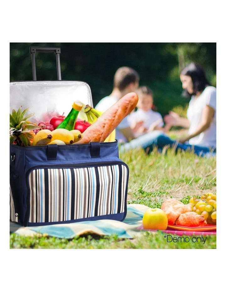 6 Person Picnic Bag Trolley Set image 3
