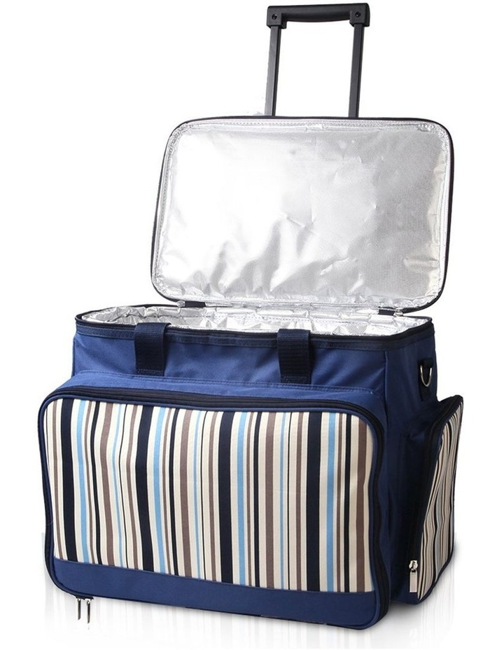 6 Person Picnic Bag Trolley Set image 4