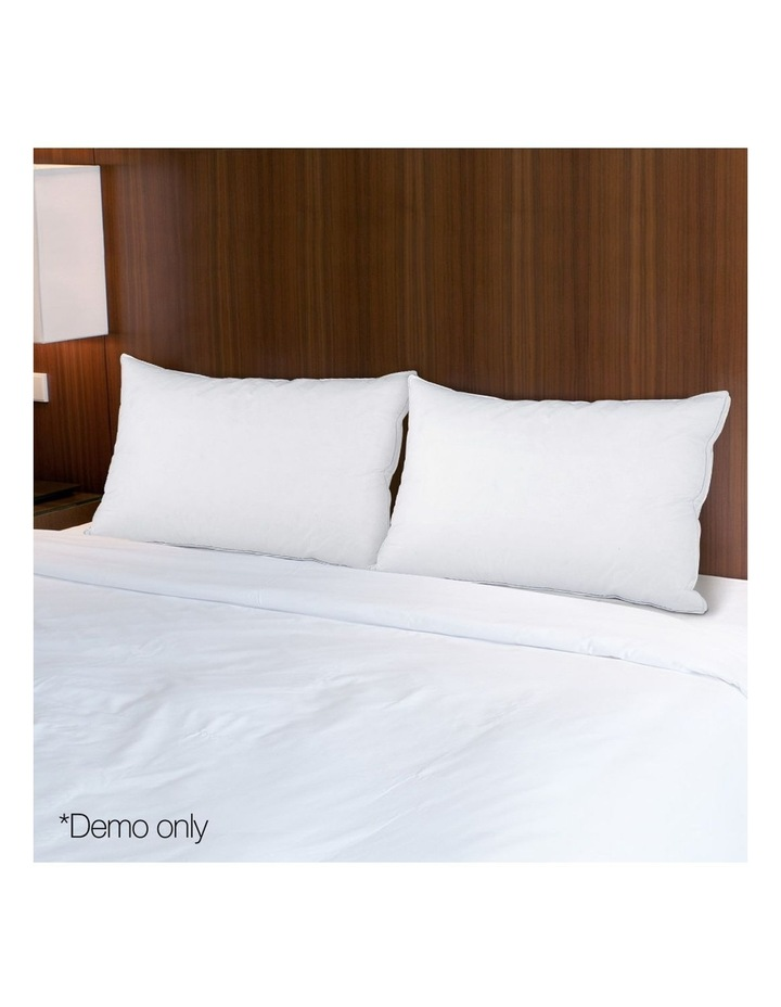 Duck Feather Down Twin Pack Pillow image 3