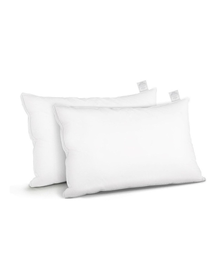 Goose Feather Down Twin Pack Pillow image 1