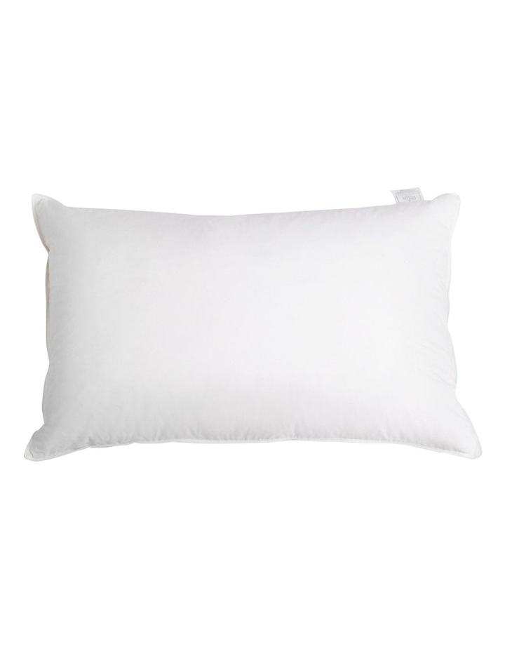 Set of 2 Goose Feather and Down Pillow image 5