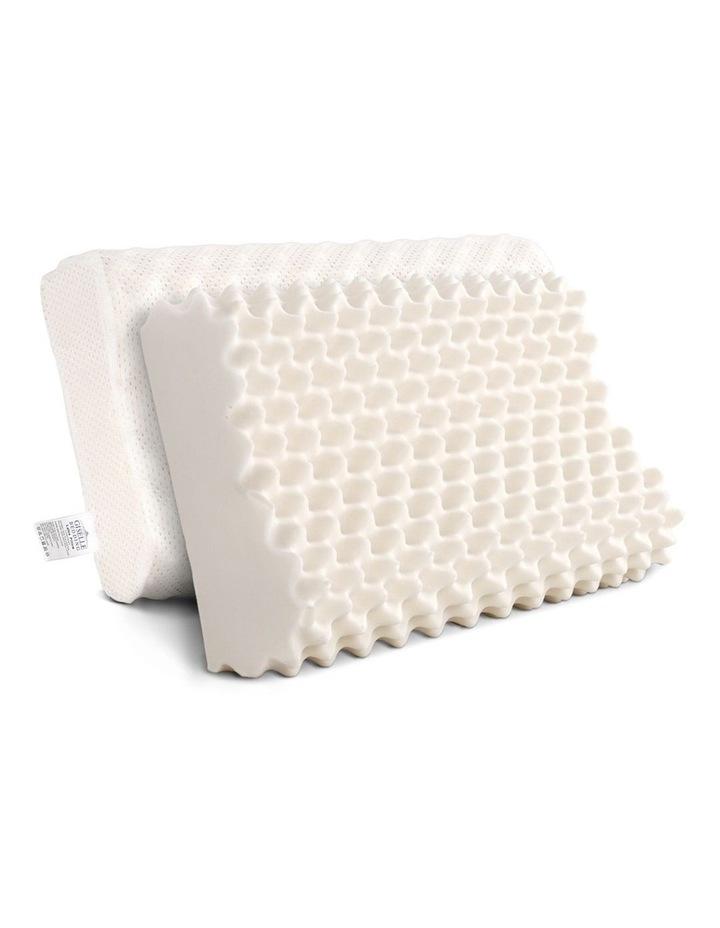 Set of 2 Natural Latex Pillows image 1