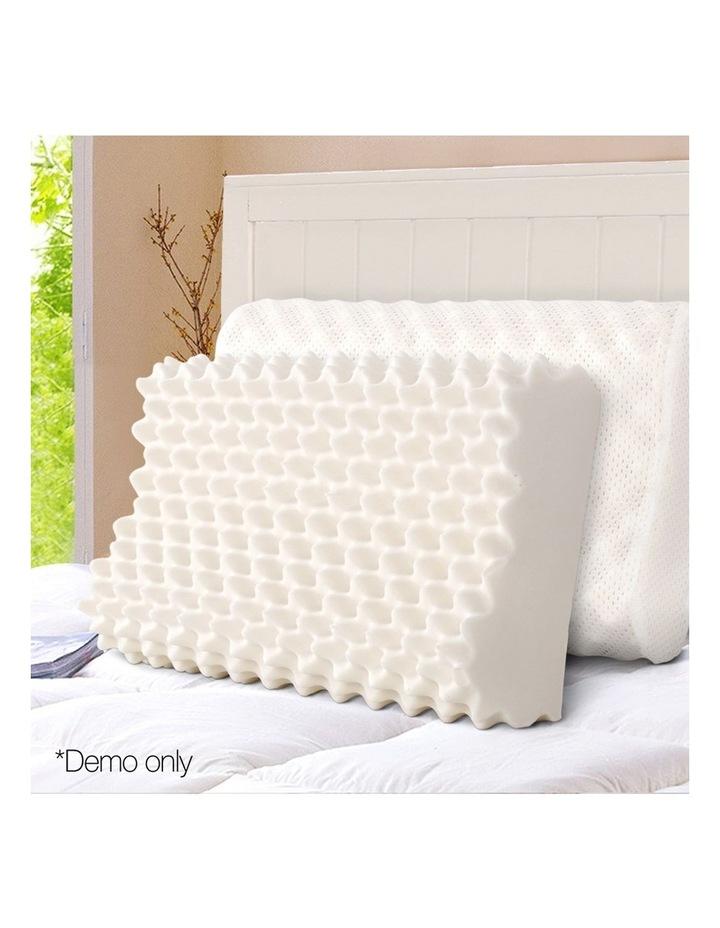 Set of 2 Natural Latex Pillows image 3