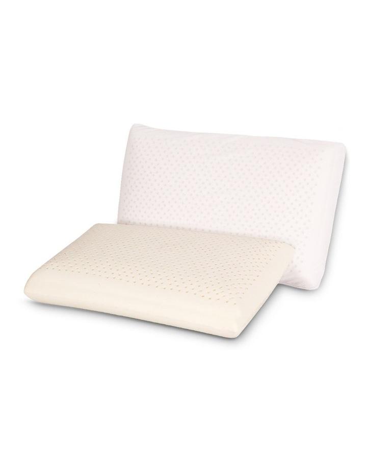 Set of 2 Natural Latex Pillow image 3