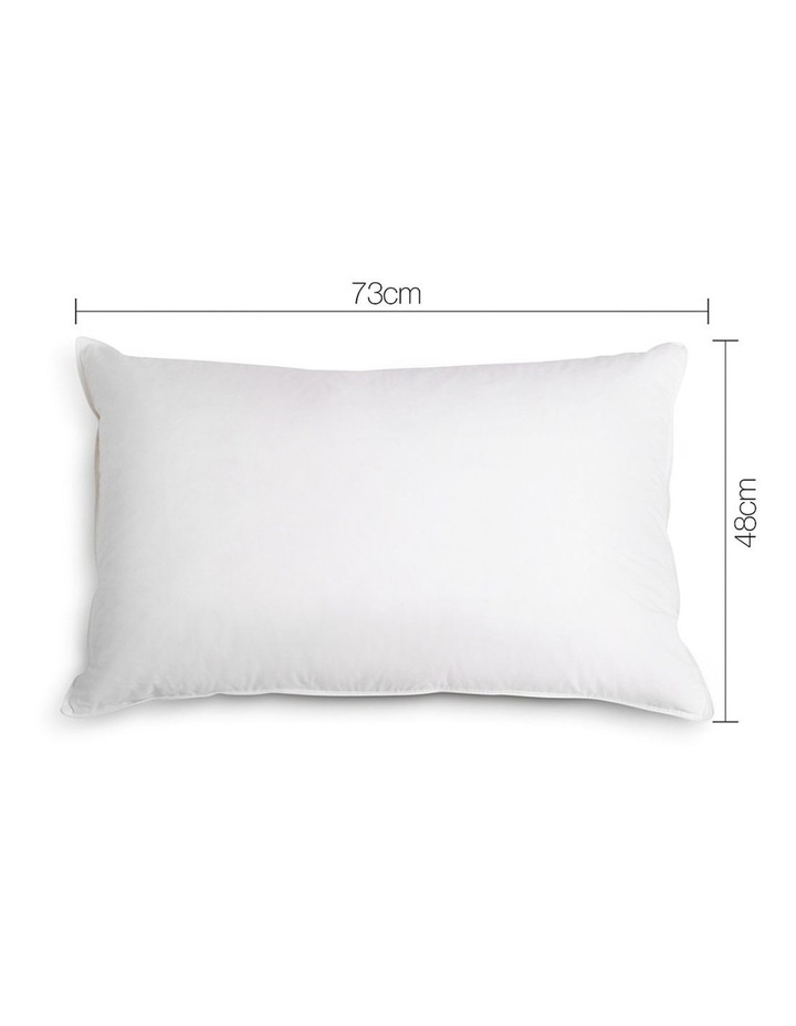 Set of 4 Medium & Firm Cotton Pillows image 2