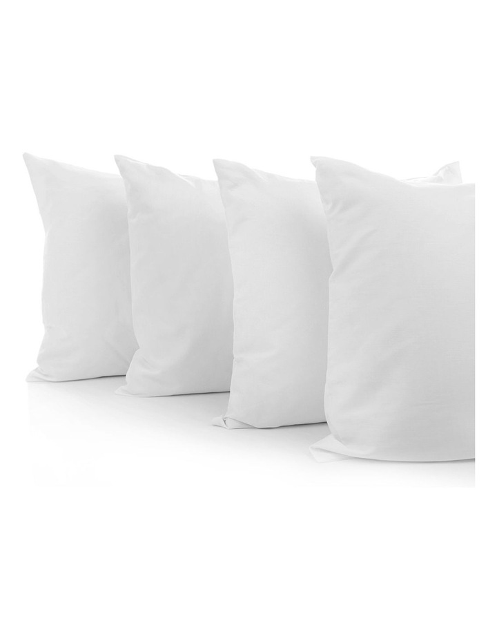 Set of 4 Medium & Firm Cotton Pillows image 4