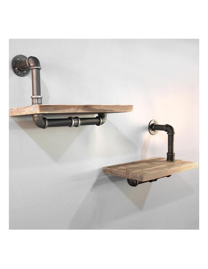 DIY Floating Wall Shelves image 1