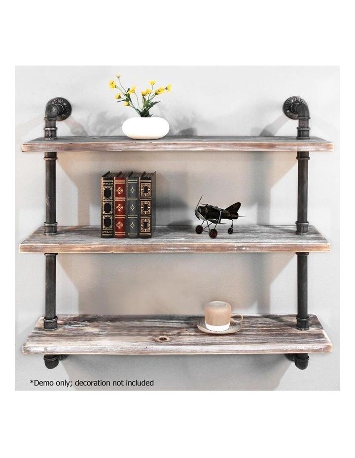3 Level 92cm DIY Wall Mounted Bookshelf image 4