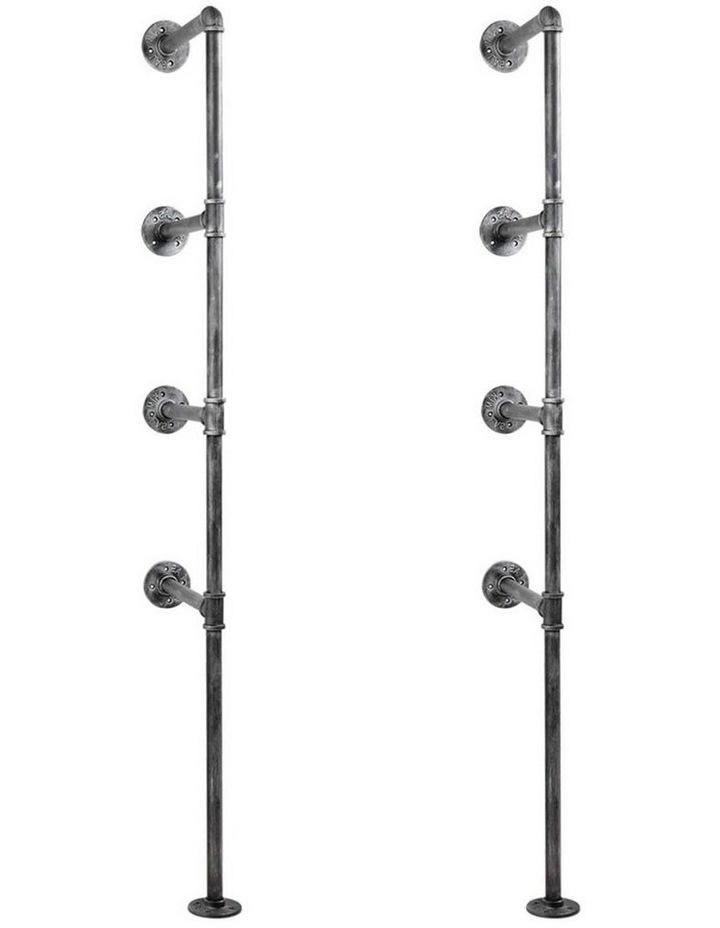 DIY Metal Ceiling Pipe Shelf image 3