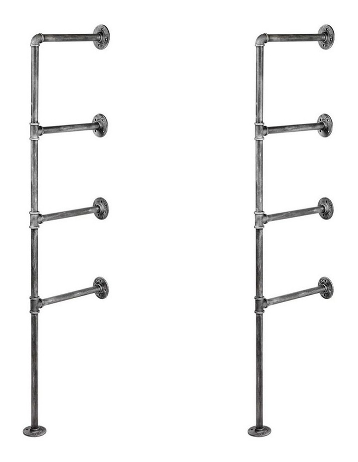 DIY Metal Ceiling Pipe Shelf image 4