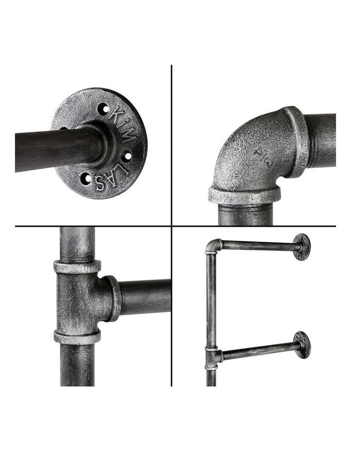 DIY Metal Ceiling Pipe Shelf image 5