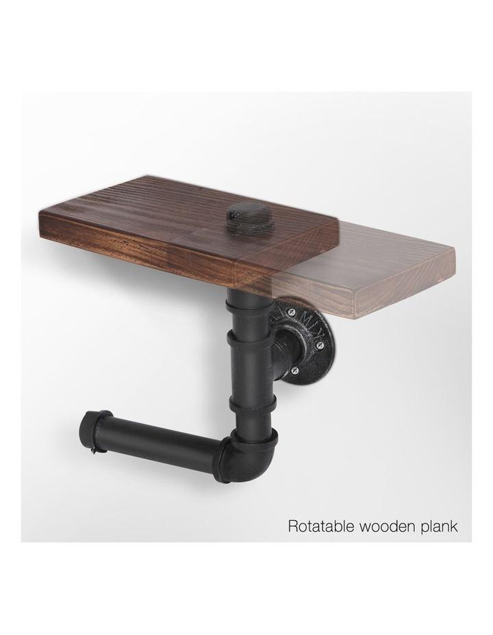 DIY Bathroom Toilet Roll Holder image 3