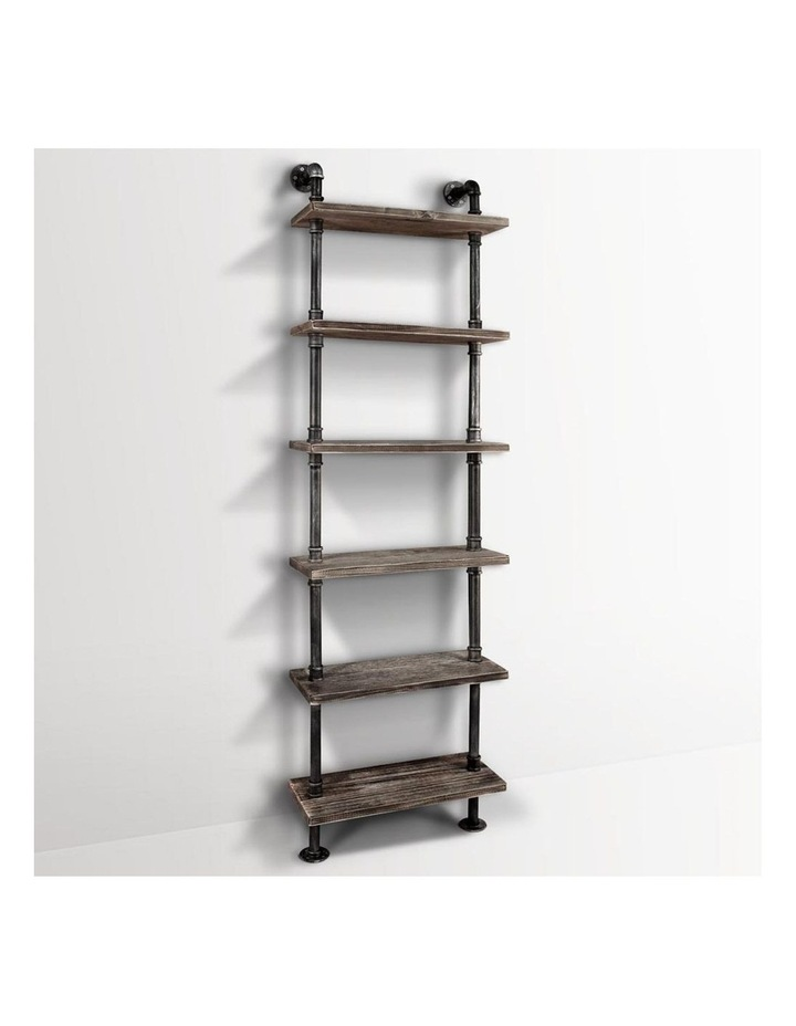6 Level DIY Wooden Bookshelf image 1
